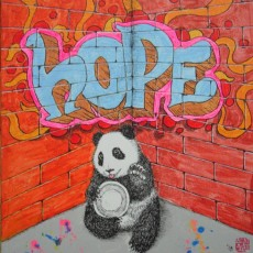 Pandas Wall