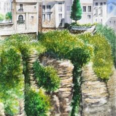 굴다-협곡위의 마을