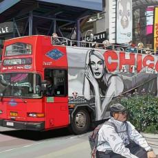 뉴욕의 2층 버스