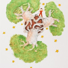 어린왕자와 바오밥나무